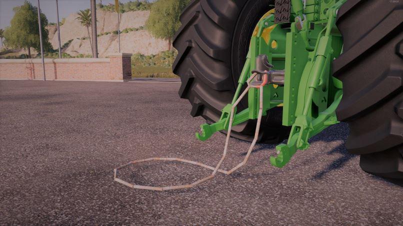 Мод Tow line 3D v 1.0 для Farming Simulator 2019