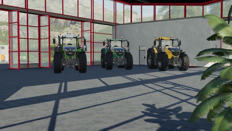 Мод Fendt Vario 1000 v 1.0 для Farming Simulator 2019