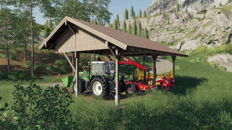 Мод Small Shelter v 1.0 для Farming Simulator 2019