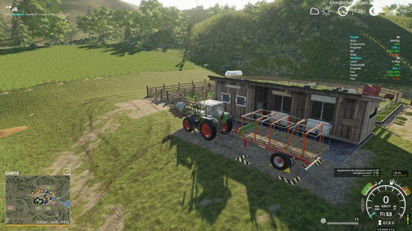 Мод Buyable Wool Pallet v 1.0 для Farming Simulator 2019