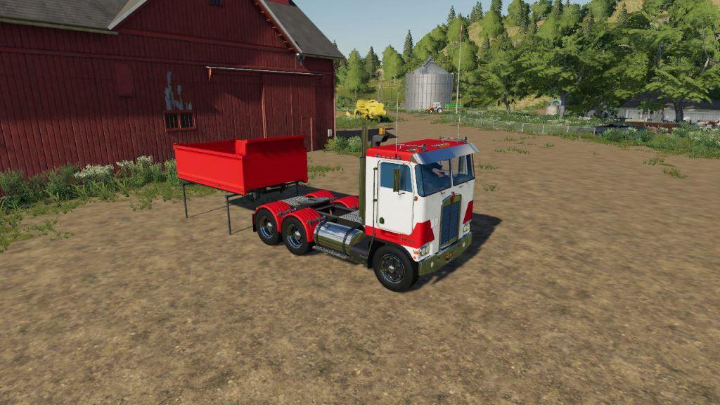 Мод Kenworth K100 Daycab v 1.0 для Farming Simulator 2019