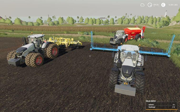 Мод Fendt 1000 Vario Baureihe v 1.0.1 для Farming Simulator 2019