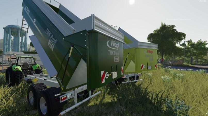 Мод Fliegl TMK 264 and 273 v 1.0 для Farming Simulator 2019