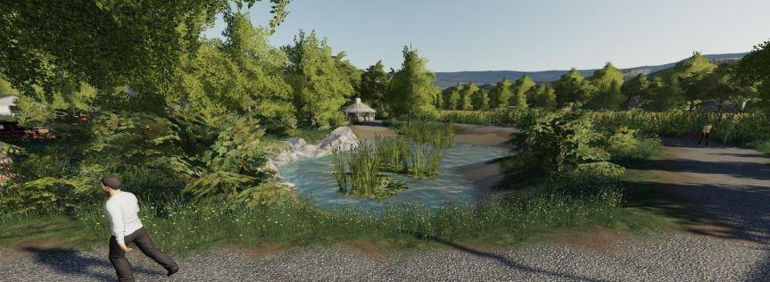 Мод Карта Muhlenkreis Mittelland v 1.0.2 для Farming Simulator 2019