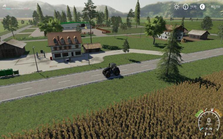 Мод Карта Fruitland v 1.0 для Farming Simulator 2019