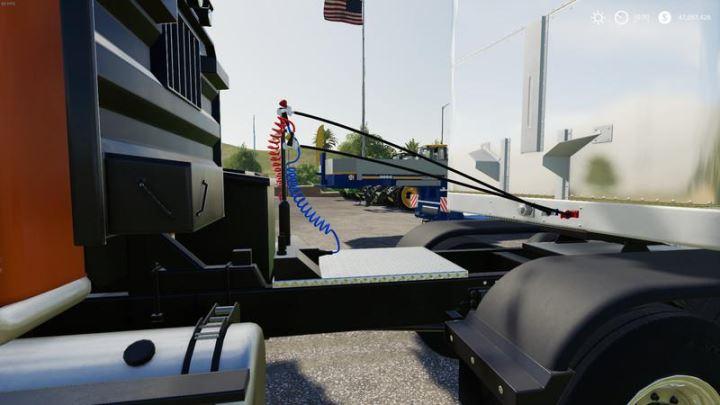 Мод Warrior Semi Truck v 1.0.1.0 для Farming Simulator 2019