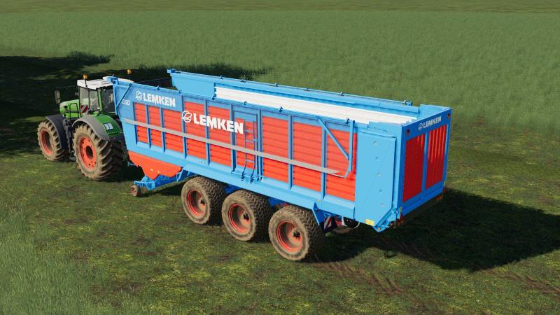 Мод Lemken 560 v 1.0 для Farming Simulator 2019