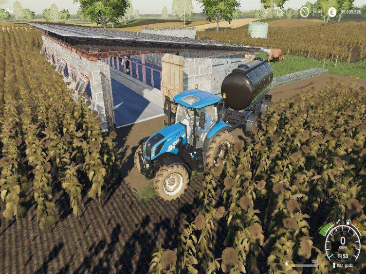 Мод Pastwisko dla krow PLACEABLE v 1.0 для Farming Simulator 2019