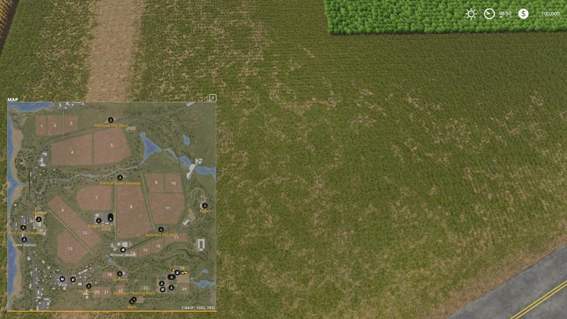 Мод Карта Ravenport McKnightG Edition v 1.0.6.0 для Farming Simulator 2019