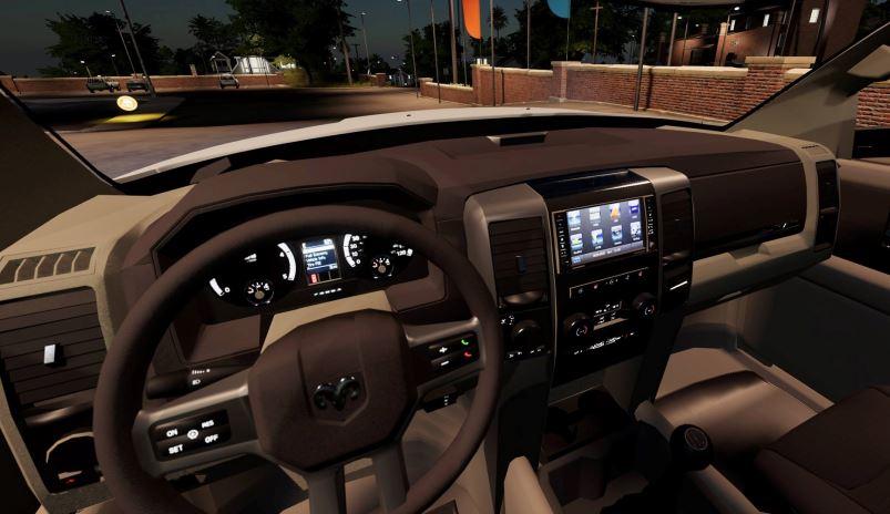 Мод Ram 3500 Flatbed v 1.1 для Farming Simulator 2019