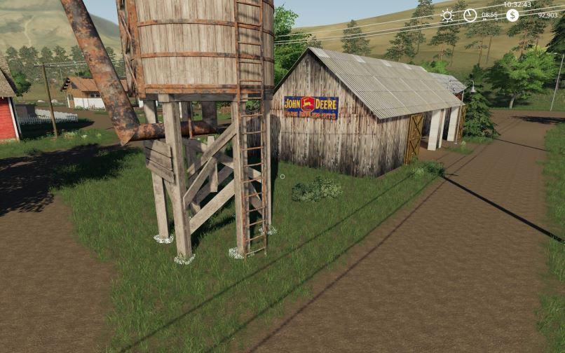 Мод Карта Old Family Farm v 2.0 для Farming Simulator 2019