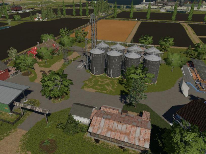 Мод Карта New City v 1.0 для Farming Simulator 2019