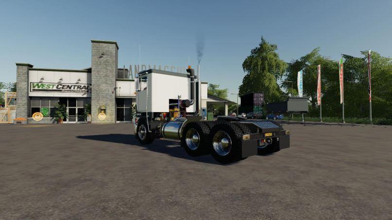 Мод Kenworth K100-K123 v 1.0 для Farming Simulator 2019