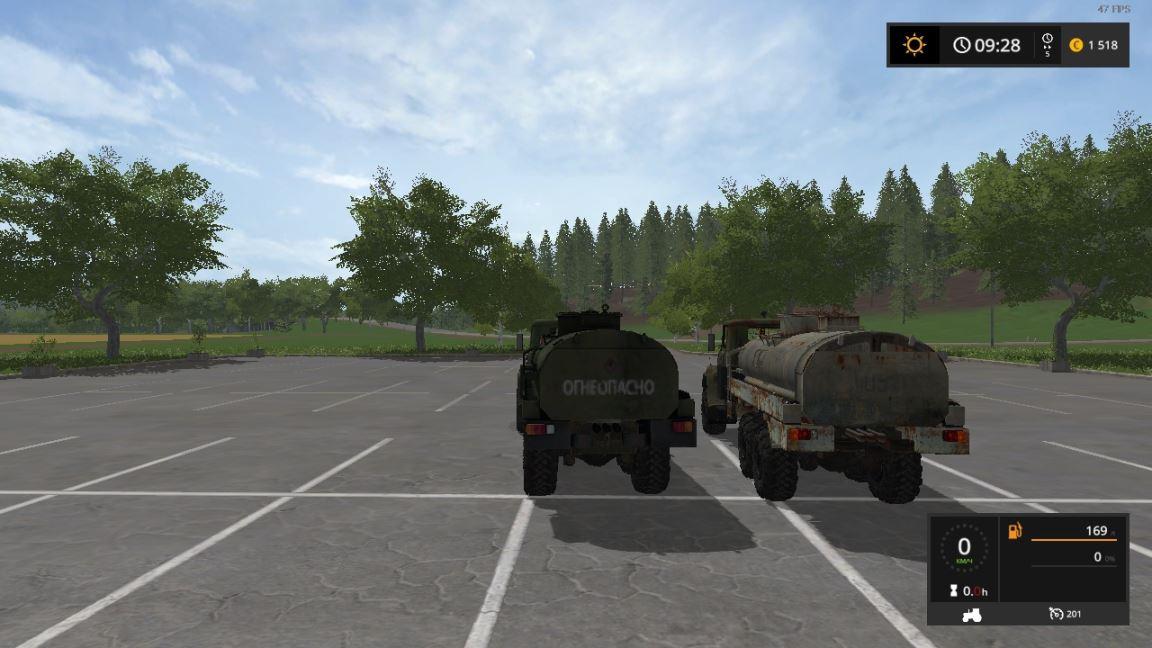Мод Краз-65053 v 1.0 для Farming Simulator 2017