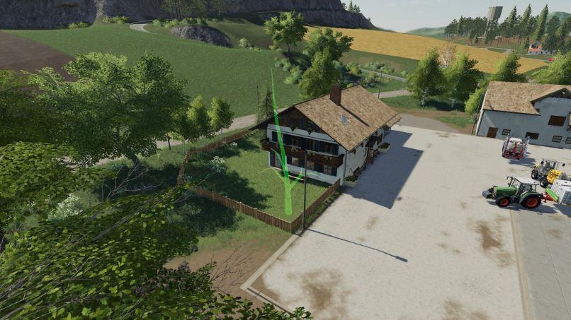 Мод Placeable Trees v 1.1.0.1 для Farming Simulator 2019