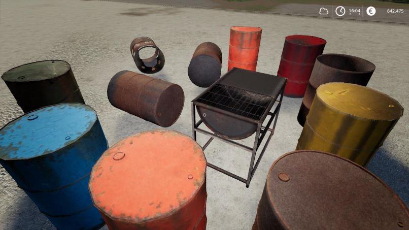 Мод Drum Kit v 1.0 для Farming Simulator 2019