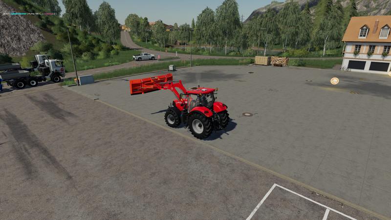 Мод Holaras MES400 Frontlader-Edition v 1.1 для Farming Simulator 2019