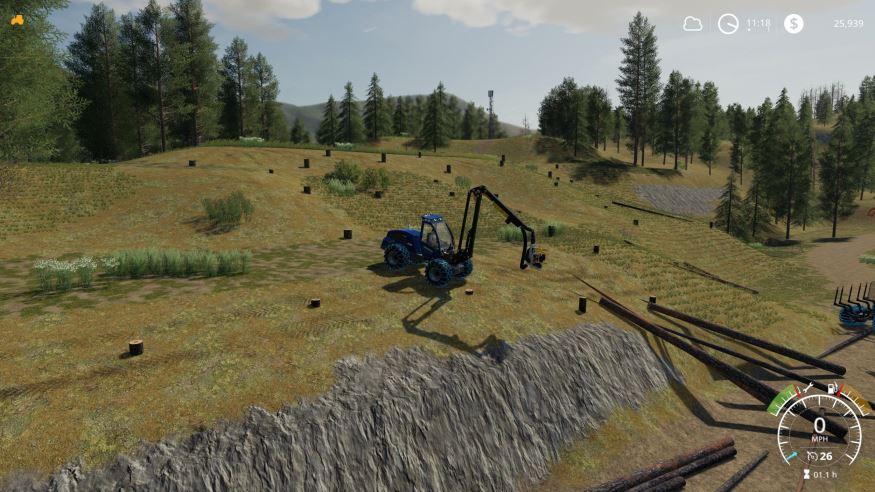 Мод Logger pack v 1.0 для Farming Simulator 2019