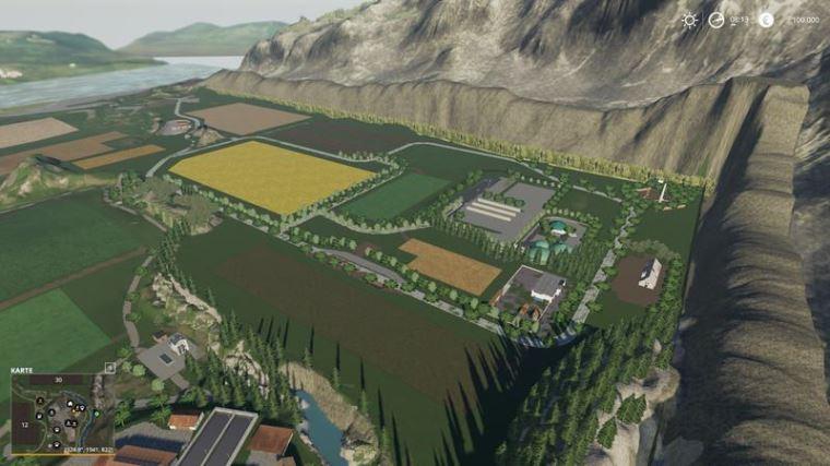 Мод Карта Niederbayern v 1.5 для Farming Simulator 2019