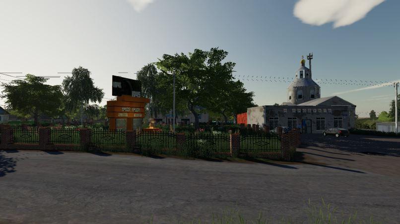 Мод Карта Село Ягодное v 2.3.1 для Farming Simulator 2019