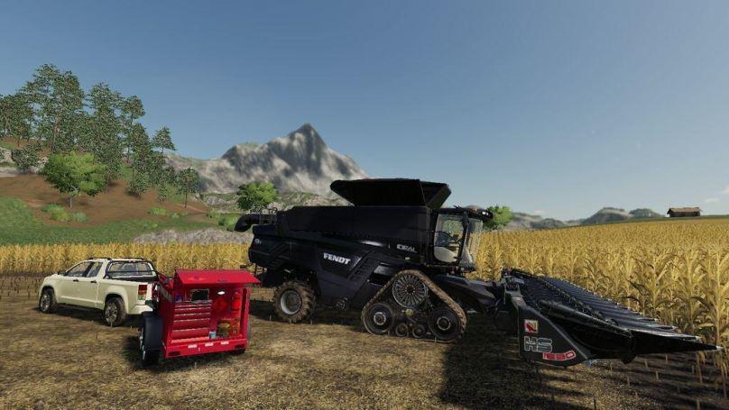 Мод Field Service Trailer v 1.0 для Farming Simulator 2019