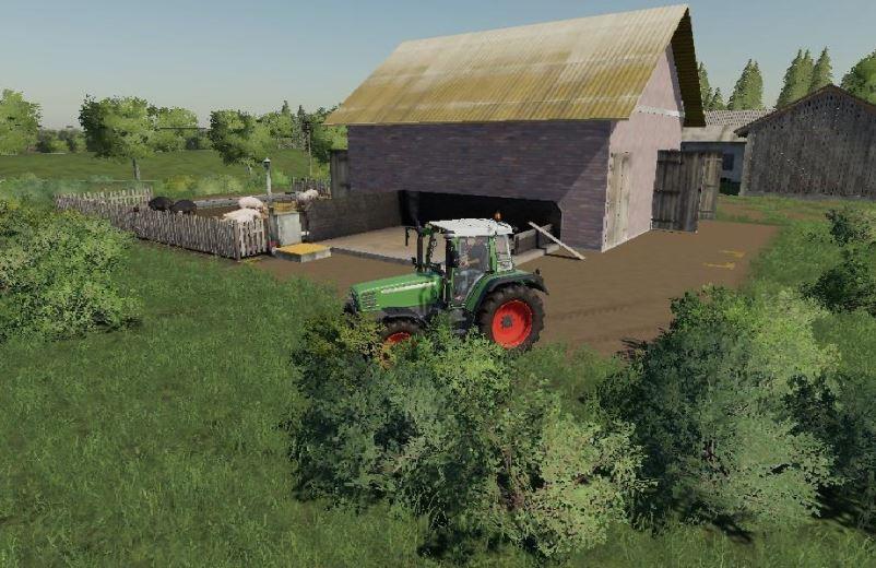 Мод Small pig shed v 1.0 для Farming Simulator 2019