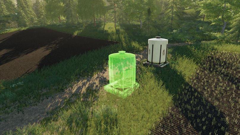 Мод Placeable Refill Tanks v 1.0 для Farming Simulator 2019