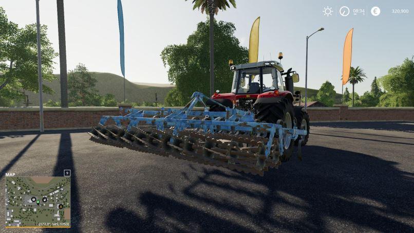 Мод Agregat 4.2m v 1.0 для Farming Simulator 2019