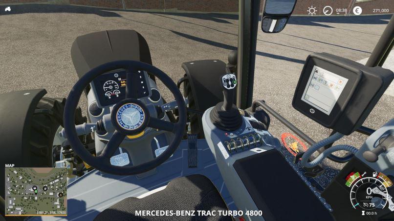 Мод MB trac turbo Concept v 3.0 для Farming Simulator 2019