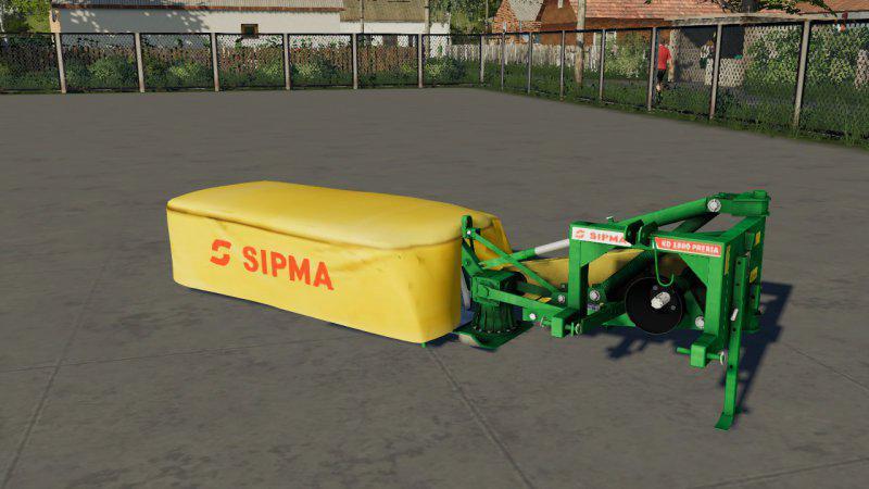 Мод Sipma Preria 1600 v 1.0 для Farming Simulator 2019