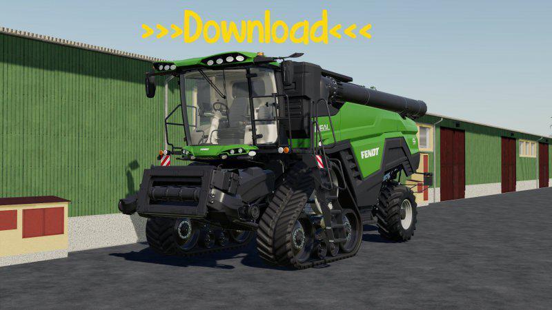 Мод Agco Ideal Nature Green v 1.1 для Farming Simulator 2019