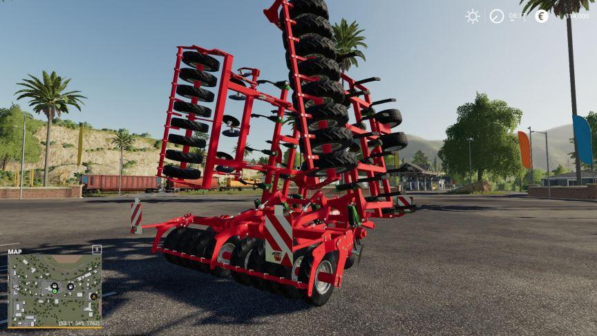 Мод DFI Horsch Tiger 10LT Plowspec v 1.0 для Farming Simulator 2019