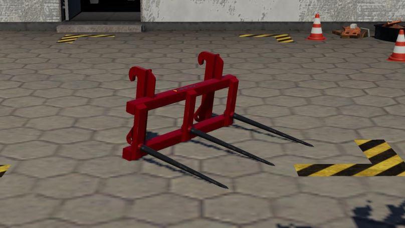 Мод Bala Agri Square Bale Lifter v 1.0 для Farming Simulator 2019
