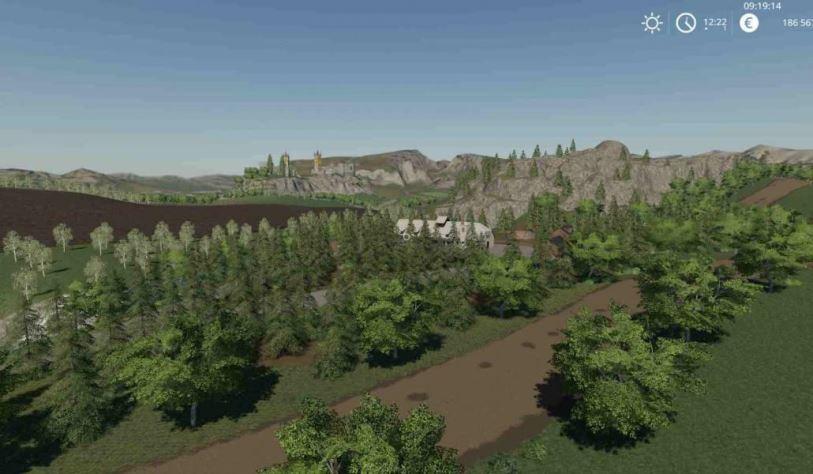 Мод Карта Ag Vitkov Map v 1.0.0.1 для Farming Simulator 2019