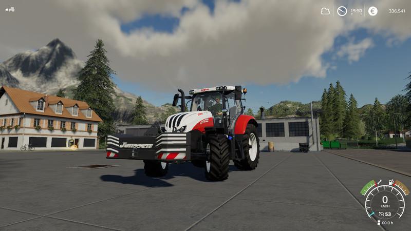 Мод Janssen 1600kg weight v 2.1 для Farming Simulator 2019