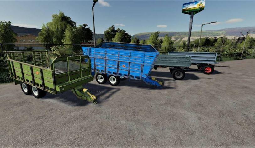 Мод Fortschritt Pack v 1.0 для Farming Simulator 2019