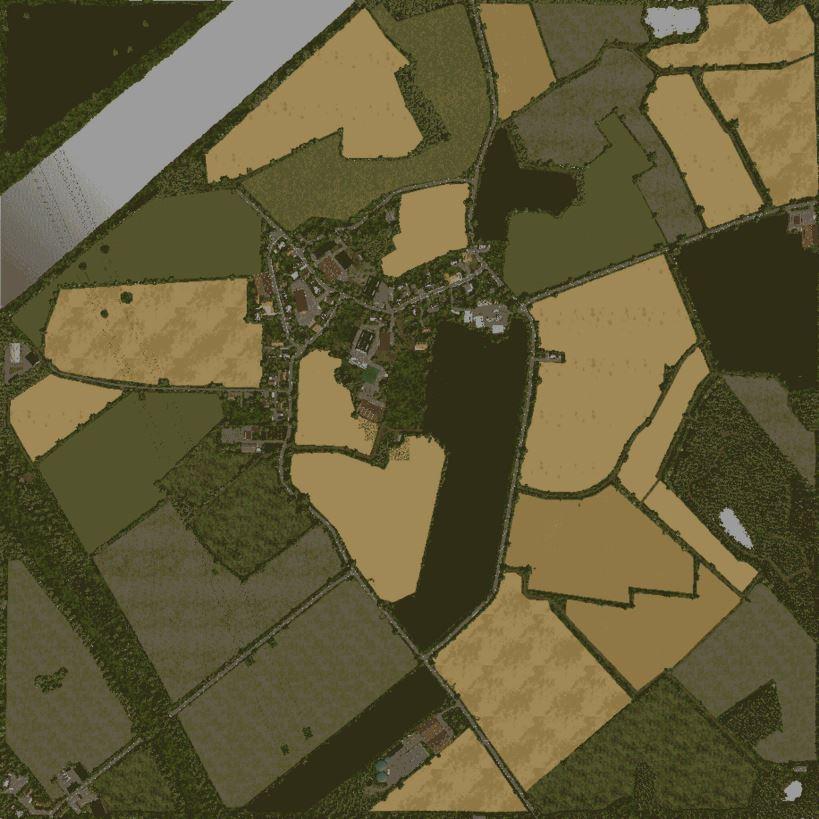 Мод Карта Gemeinde Rade v 1.0 для Farming Simulator 2019