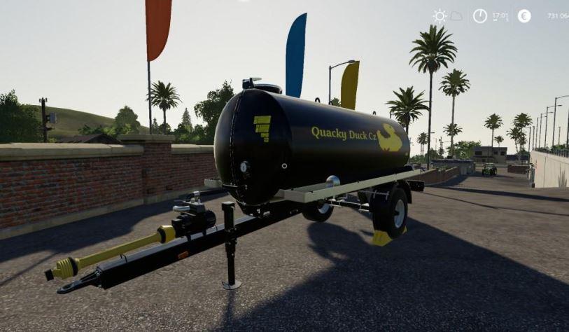 Мод Quacky Duck CZ Univerzal trailer PACK v 1.0 для Farming Simulator 2019