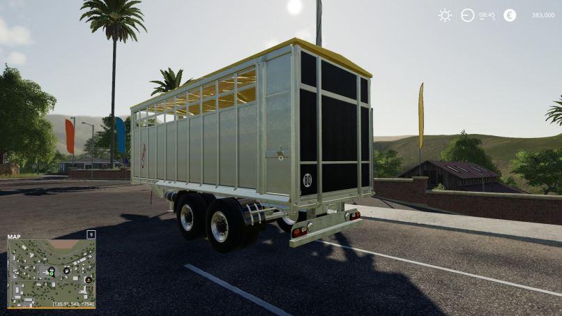 Мод Fliegl animal trailer v 1.0 для Farming Simulator 2019