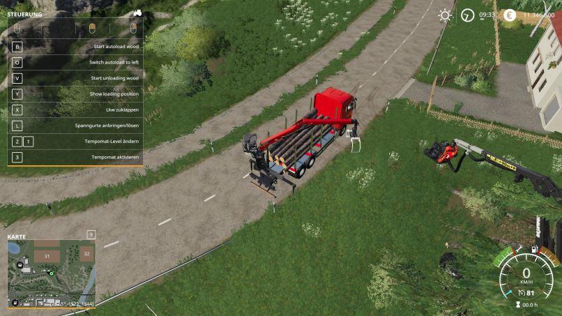 Мод MAN Forst LKW with Autoload Wood v 2.0 для Farming Simulator 2019