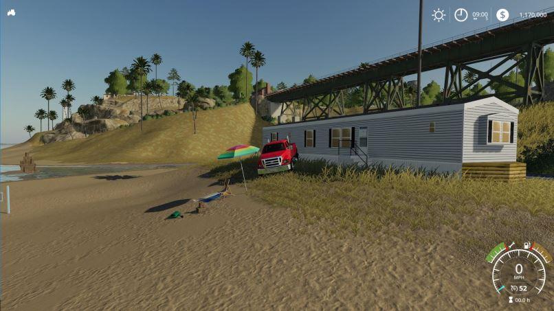 Мод Дом на колесах v 1.0 для Farming Simulator 2019