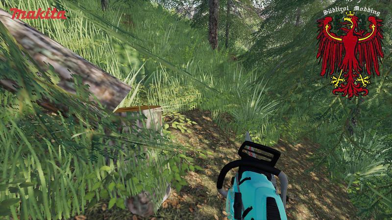 Мод Makita chainsaw v 1.0для Farming Simulator 2019