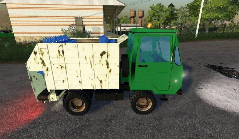 Мод IFA Multicar feed mixer v 1.0 для Farming Simulator 2019