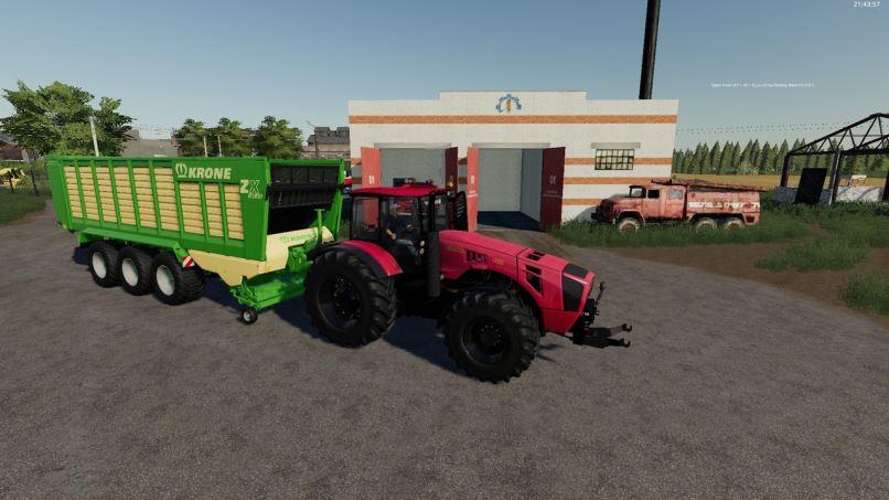 Мод Беларус МТЗ-4522 v 1.1 для Farming Simulator 2019
