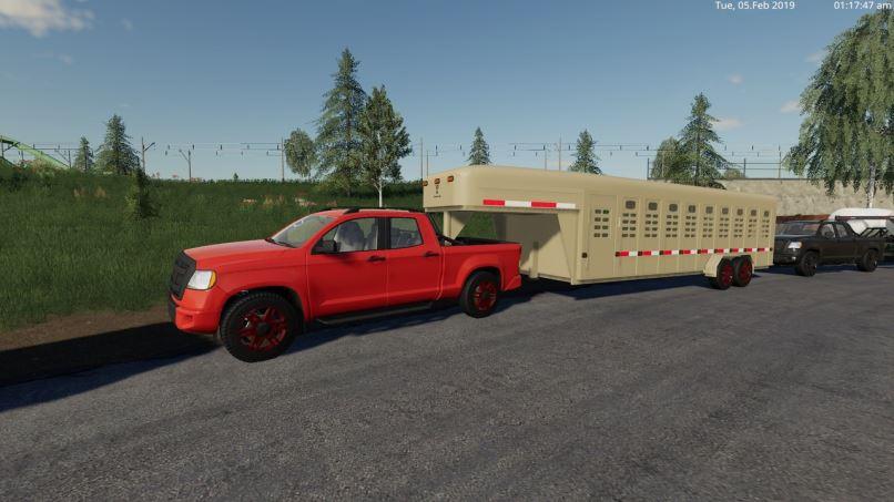 Мод Пикап 2014 v 1.9 для Farming Simulator 2019