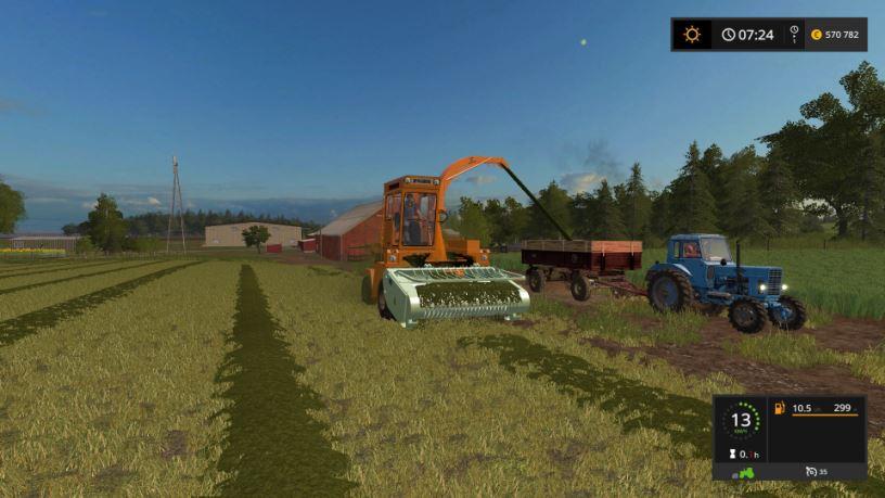 Мод ЯСК-170А Ярославец для Farming Simulator 2017