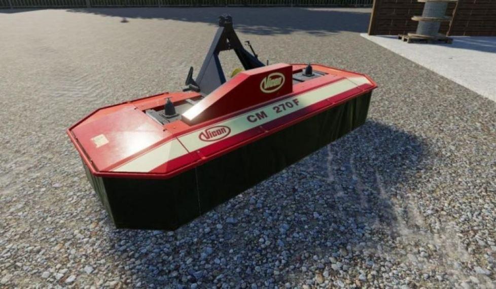 Мод Claas Disco 3450 Plus и Vicon Cm 270f v 1.0 для Farming Simulator 2019