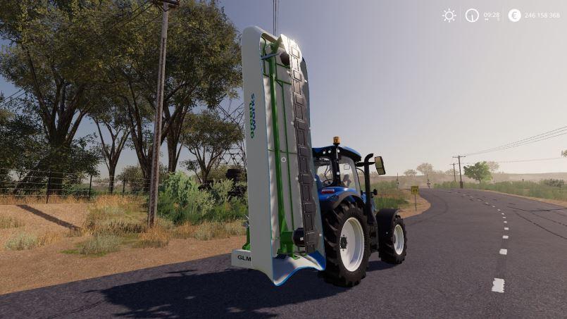 Мод Greenworks GLM 1240 v 1.0 для Farming Simulator 2019