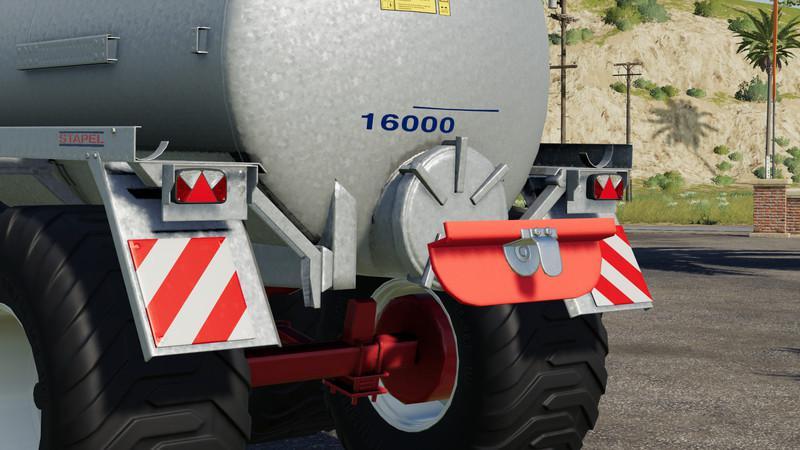 Мод Joskin Stapel Modulo2 Prallteller v 1.0 для Farming Simulator 2019