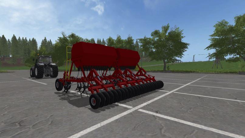 Мод Агромастер 6000 v 3.1 для Farming Simulator 2017
